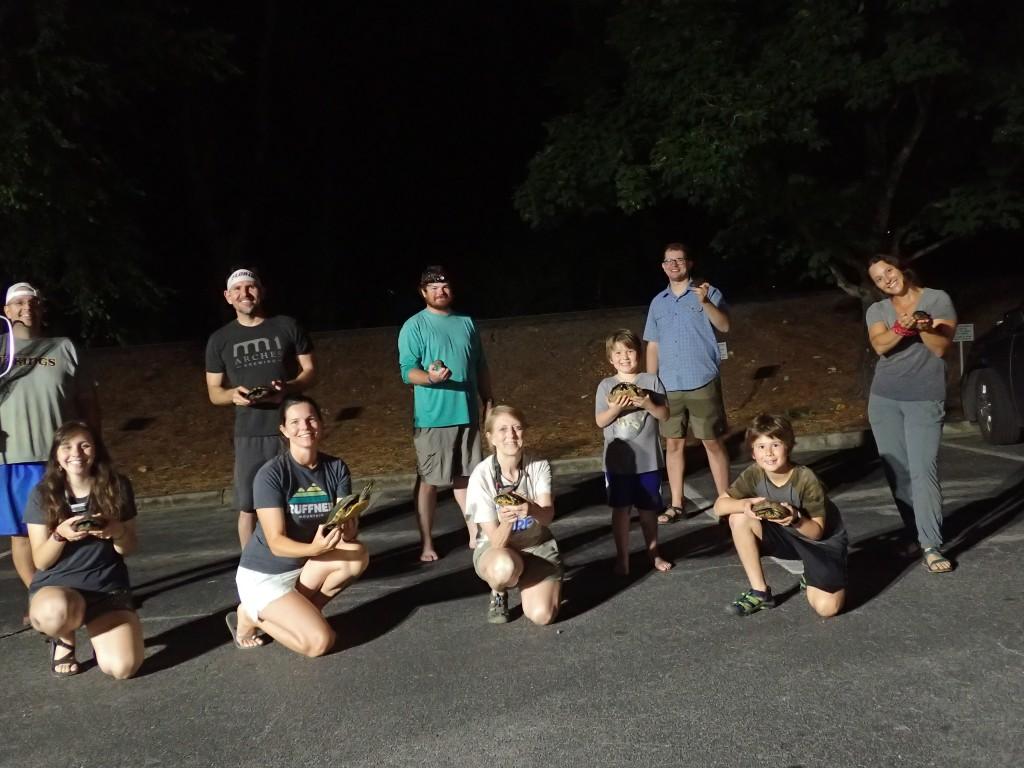 Urban Turtle Project volunteers.